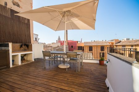 Stylish apartment with its own roof terrace in the heart of the Old Town