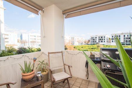 Schöne und sonnige Wohnung in Ciutat Jardin