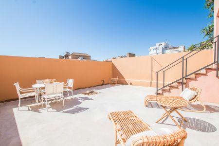 Bra lägenhet med trädgård i Molinar