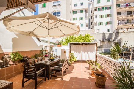 Apartment with a terrace in central Santa Catalina