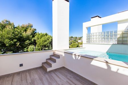 Nice detached house with roof terrace in Bendinat