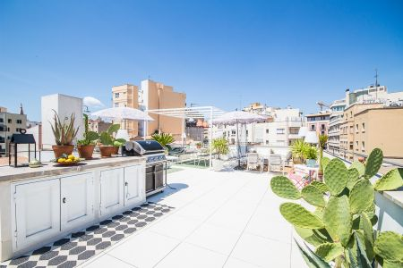 Lovely apartment with fantastic roof terrace in Santa Catalina
