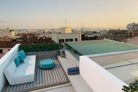 Exclusive penthouse with its own pool on the roof terrace